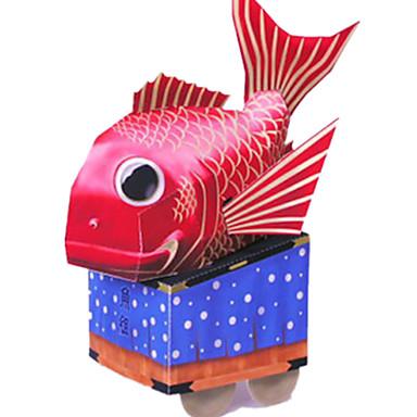 3D-puslespill Papirmodell Papirkunst Fisk Møbler artikler GDS Klassisk Barne Gutt Unisex Gave