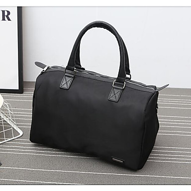 Unisex Bags All Seasons Oxford Cloth Polyester Travel Bag with for Casual Outdoor Black