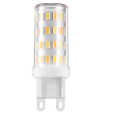 3W LED Bi-pin Lights T 60 SMD 4014 330-360 lm Dual Light Source Color Decorative AC 220 V 1 pc G9