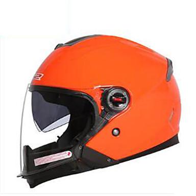LS2  OF578 Motorcycle Helmet Men And Women Electric Car Four Seasons Half Helmet Double Lens Half-Covered Helmet Winter