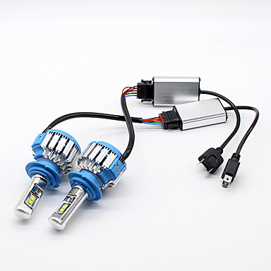 H7 Carro Lâmpadas 35 W LED de Alto Rendimento 7000 lm Lâmpada de Farol