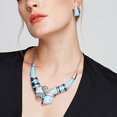 374ad531bee0 Mujer Conjunto de joyas Plateado Importante