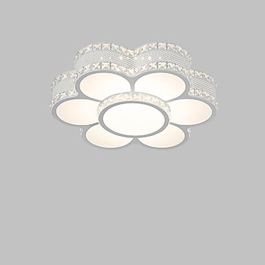 Montagem do Fluxo Luz Ambiente - Cristal Lâmpada Incluída Designers, Chique & Moderno Moderno / Contemporâneo, 110-120V 220-240V, Branco