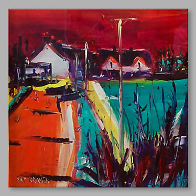 Oil Painting Hand Painted - Landscape Artistic Canvas