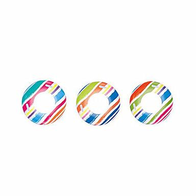 Boias de piscina infláveis Anéis de natação Brinquedos Circular Pato PVC Homens Mulheres Peças