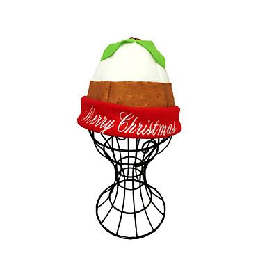 Chapéus de natal bordados de alta qualidade gecorations de natal chapéus de festa presente de ano novo