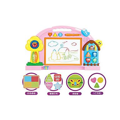 Brinquedo para Desenhar Lousas Mágicas Cavalete Magnético Magnética Plásticos Crianças Brinquedos Dom