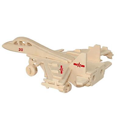 voordelige 3D-puzzels-3D-puzzels Metalen puzzels Modelbouwsets Vechter DHZ Natuurlijk Hout Klassiek Kinderen Volwassenen Unisex Speeltjes Geschenk