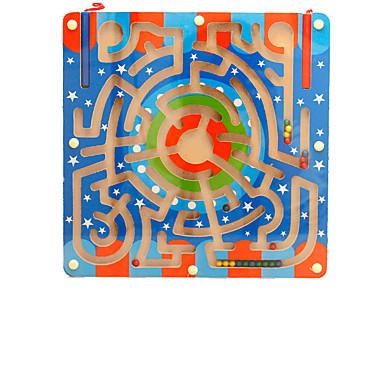 Jogos de Tabuleiro Jogos de Labirinto & Lógica Labirinto Labirintos Magnéticos Brinquedos Magnética PVC Ferro Peças Crianças Dom