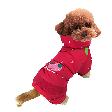 Cachorro Fantasias Roupas para Cães Fruta Algodão Ocasiões Especiais Para animais de estimação Homens Mulheres Fantasias