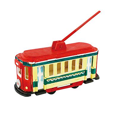 3D építőjátékok / Fejtörő Busz Lakberendezési cikkek / DIY Fa Klasszikus Gyermek Ajándék