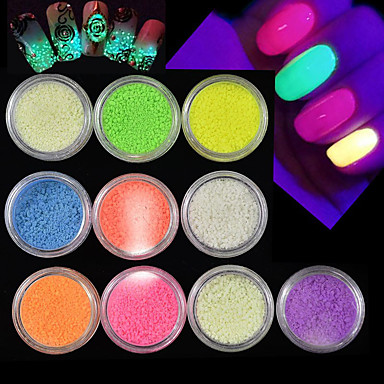 Glitter Powder Nail DIY Tools 3D nail art Manicure Pedicure Classic Daily