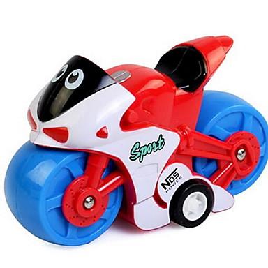 Játékautók Felhúzós játék Hátrahúzós autó Motorbicikli Moto Műanyagok Darabok Uniszex Gyermek Ajándék