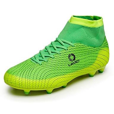 Férfi cipő Kötött Bőrutánzat Ősz Tél Kényelmes Sportcipők Foci Narancssárga Zöld Kék