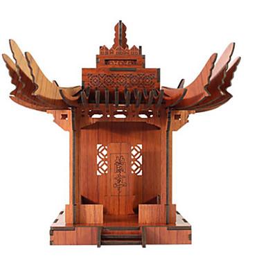 3D - Puzzle Holzpuzzle Berühmte Gebäude Haus Hölzern Naturholz Unisex Geschenk