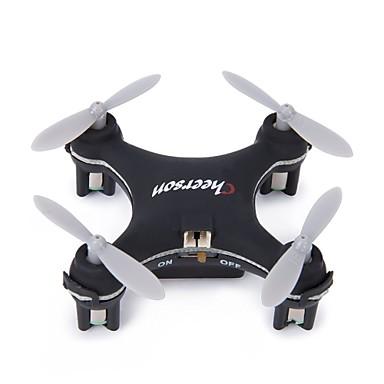 RC Drohne Cheerson CX10SE Black 4 Kan?le 6 Achsen 2.4G Ferngesteuerter Quadrocopter LED-Lampen 360-Grad-Flip Flug Schweben