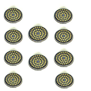 3 W 500 lm GU10 LED szpotlámpák 48 led SMD 2835 Dekoratív Meleg fehér Hideg fehér AC 12V