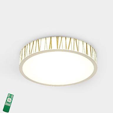 LED Divatos és modern Mennyezeti lámpa Háttérfény - Többszínű Az izzó tartozék, 220-240 V, Távirányítóval szabályozható, LED fényforrás