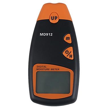 MD912 Digital LCD vochtmeter Hout Hygrometer Tester (2% ~ 60%, 0,5%, 1 * 9V)