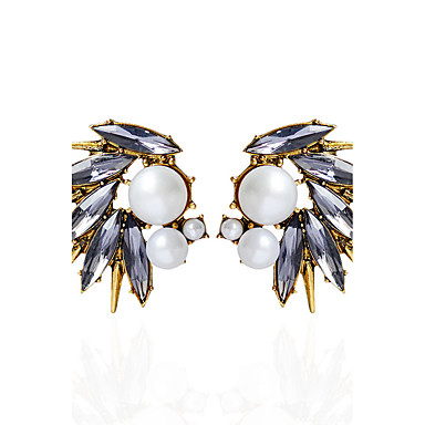 Women's Stud Earrings / Drop Earrings / Hoop Earrings - Imitation Pearl Animal Gray For Party / Daily