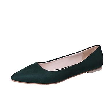 Mujer Zapatos Lentejuelas Primavera / Verano Bailarina Bailarinas Tacón Plano Dedo redondo Negro / Fucsia / Azul 0ckmpQYy