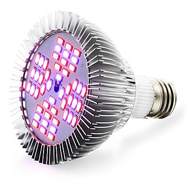 1pc 13 W 2500-3200LM E26 / E27 Growing Light Bulb 48 Cuentas LED SMD 5730 Rojo / Azul 85-265 V / 1 pieza / Cañas / FCC