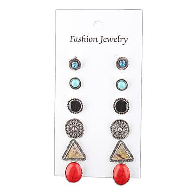 Női Beszúrós fülbevalók - Vintage, Bohém, Divat Ezüst Kompatibilitás Esküvő / Parti / Napi