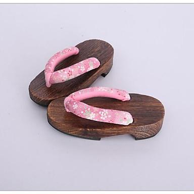 Damen Schuhe Baumwolle Stoff Frühling Herbst Cloggs & Pantoletten Cloggs & Pantoletten Für Normal Rosa