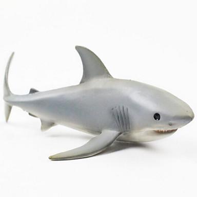 Állatok cselekvési számok Szerepjátékok Halak Shark Tengeri állat Állatok tettetés Szilikongumi Gyermek Tini Ajándék