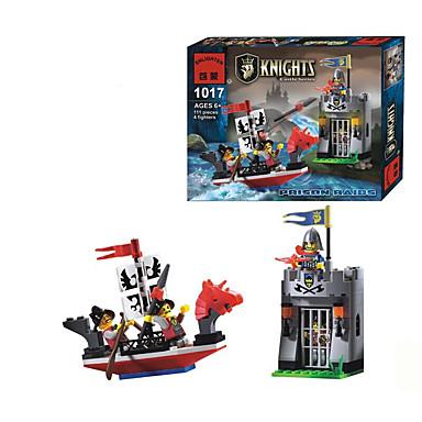 ENLIGHTEN Bausteine Minifiguren aus Blockbausteinen Burg Architektur Fun & Whimsical Spielzeuge Geschenk