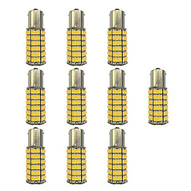10pcs 1156 Autó Izzók 4W SMD 3528 385lm LED izzók Irányjelző