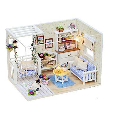 Modellbausätze Heimwerken Berühmte Gebäude Haus Holz Stücke Damen Kinder Geschenk