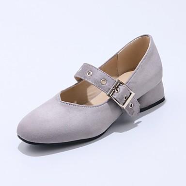 Damen Schuhe maßgeschneiderte Werkstoffe / Stretch - Satin Frühling / Herbst Komfort / Ballerina / Neuheit Loafers & Slip-Ons Walking