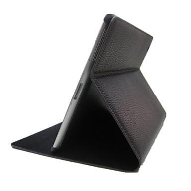 Pentru Carcase Huse Cu Stand Auto Sleep / Wake Corp Plin Maska Culoare solidă PU Piele pentru iPad 4/3/2