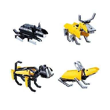 Bausteine Bildungsspielsachen Rabbit Hühnchen Schlange Hunde Schwein Drache Maus Bulle Pferd Schaf Affe Tier Heimwerken Klassisch Jungen