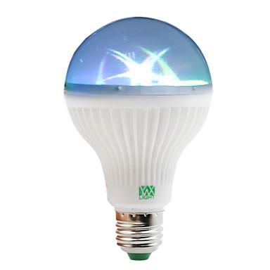 YWXLIGHT® 1W 100-150lm E27 LED Kugelbirnen 6 LED-Perlen SMD RGB 85-265V