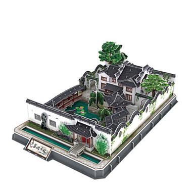 3D építőjátékok Fejtörő Népszerű épület Fa Uniszex Ajándék
