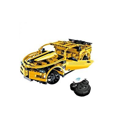Remote Control RC Building Block Kit Toy Car Building Blocks 419 pcs Car DIY Simulation Boys' Girls' Toy Gift