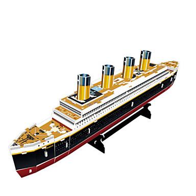 3D - Puzzle Holzpuzzle Kriegsschiff Schiff 3D Naturholz 6 Jahre alt und höher