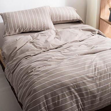 Geometrisch 4 Stück 1 Stk. Bettdeckenbezug 2 Stk. Kissenbezüge 1 Stk. Betttuch