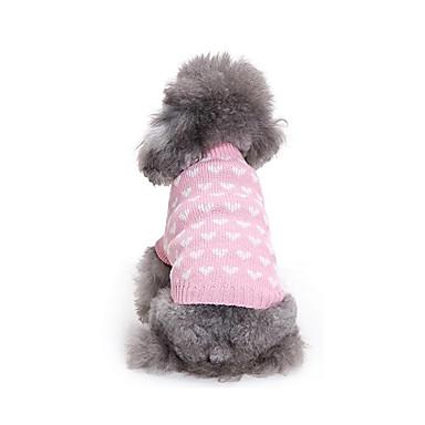 Hund Pullover Hundekleidung Lässig/Alltäglich Sport Herzen