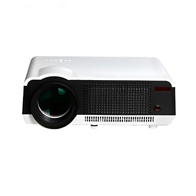 HTP LED86WIFI 3LCD Home Theater Projector LED Projector 5500 lm Android 4.4 Support 1080P (1920x1080) 50-300 inch Screen / WXGA (1280x800) / ±15°