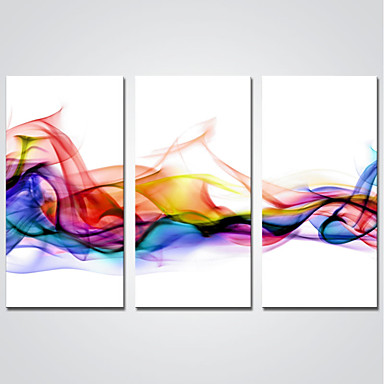 Stretched Canvas Print Three Panels Canvas Horizontal Print Wall Decor Home Decoration