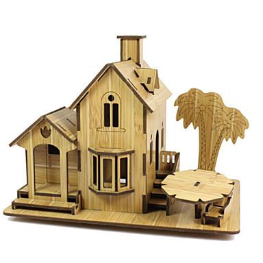 3D - Puzzle Holzpuzzle Spielzeuge Berühmte Gebäude Haus Architektur 3D Holz Naturholz Unisex Jungen Stücke