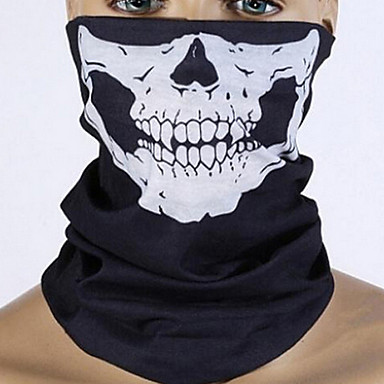 Bicycle Ski Motor Bandana Motorcycle Face Mask Skull For Motorcycle Riding Scarf Women Men Scarves Scary Windproof Face Shield