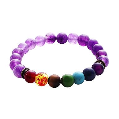 Men's Women's Strand Bracelet - Turquoise Personalized, Bohemian, Natural Bracelet Rainbow For Party Graduation Daily