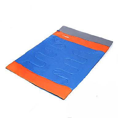 LINGNIU® Schlafsack Außen Doppelbett(200 x 200) -10-5°C Rechteckiger Schlafsack warm halten Tragbar Weich für Camping & Wandern Reisen