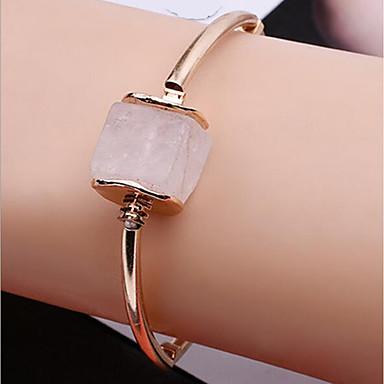Damen Ketten- & Glieder-Armbänder Kristall Personalisiert Klassisch Modisch Hypoallergen Handgemacht Krystall Aleación Geometrische Form
