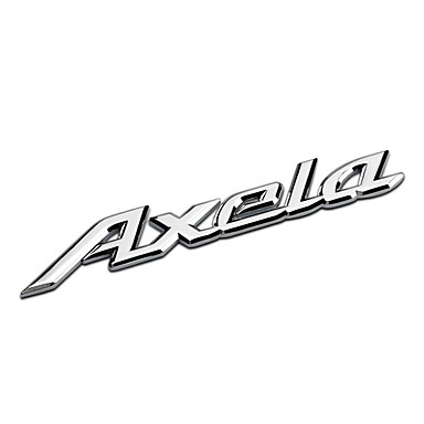 سيارة شعار سيارة الذيل علامة ل mazda3 أكسيلا