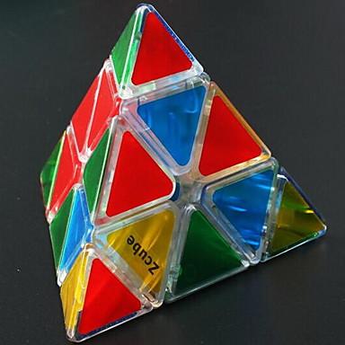 مكعب روبيك Pyramid مرآة مكعب السلس مكعب سرعة مكعبات سحرية مخفف الضغط لغز مكعب البلاستيك مستطيل مربع هدية
